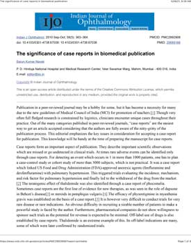 nayak-2010-the-significance-of-case-reports-in-biomedical-publication-1